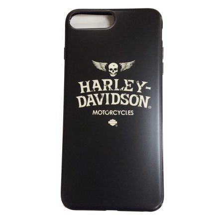 Harley Davidson Skull Protective Faceplate Cover fits iPhone 8 Plus and iPhone 7 (Front Back Faceplate)
