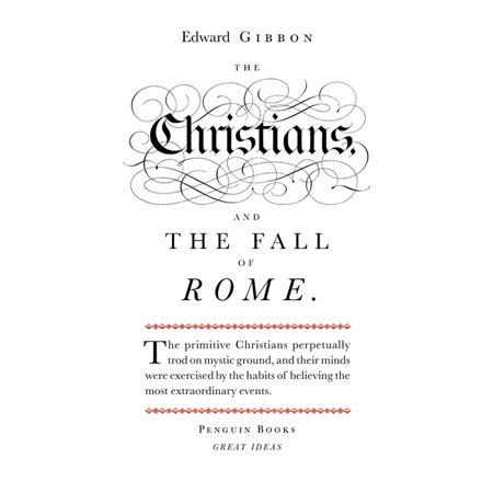 Great Ideas Christians and the Fall of Rome](Christian Ideas To Celebrate Halloween)