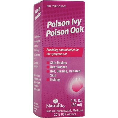 NatraBio Poison Ivy Poison Oak, 1 Fl Oz