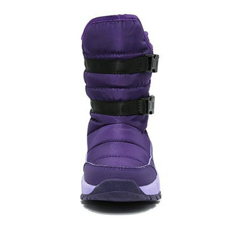 Boys Girls Winter Waterproof Warm Snow Boots for Toddler/Little Kids/Big Kids ()