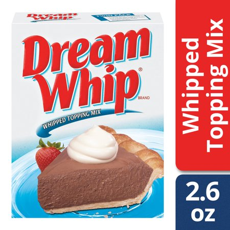 (2 Pack) Dream Whip Whipped Topping Mix, 2.6 oz (Crumble Topping)