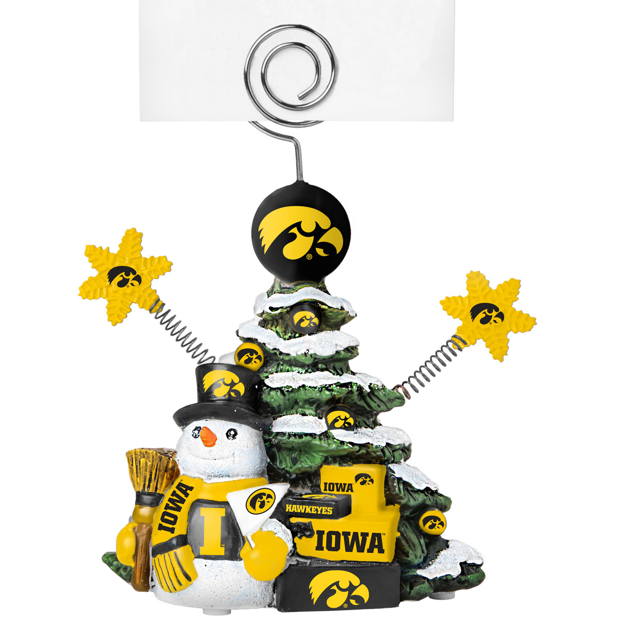 Topperscot by Boelter Brands NCAA Tree Photo Holder, University of Iowa Hawkeyes