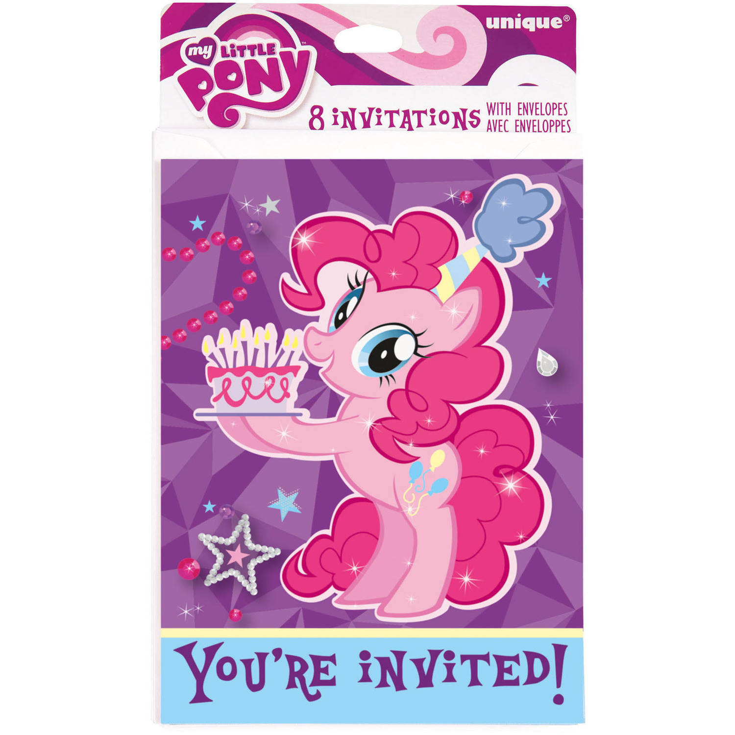 My Little Pony Invitations, 8ct