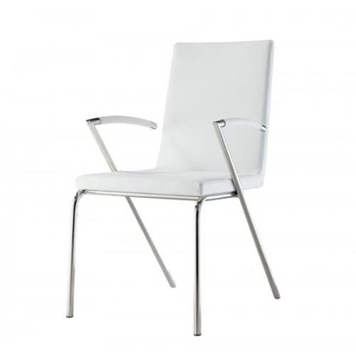 Anderson Dining Armchair-Color:Light Gray,Quantity:Set of 2 by Whiteline Modern Living