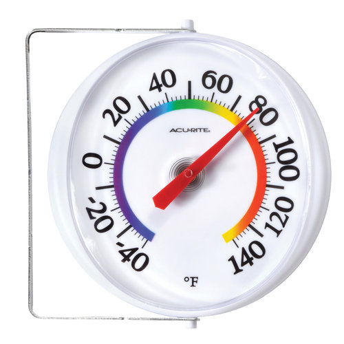 """AcuRite 5.25"""" Thermometer 00321"""
