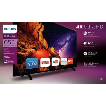 philips 65 4k 2160p smart led tv 65pfl5602 f7. Black Bedroom Furniture Sets. Home Design Ideas
