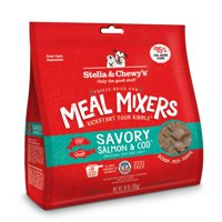 (Multiple Sizes) Stella & Chewy's Freeze-Dried Raw Savory Salmon & Cod Meal Mixers Grain-Free Dog Food Topper