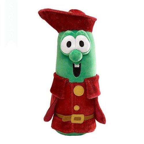 """Gund Veggie Tales Prince Larry Cucumber 12"""" Plush by Gund"""