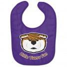 LSU Tigers Baby Bib All Pro Little Fan by Wincraft