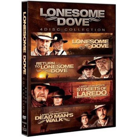 Lonesome Dove 4-Disc Collection: Lonesome Dove / Return To Lonesome Dove / Streets Of Laredo / Dead Man's Walk