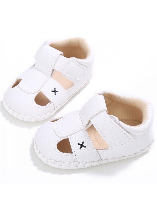 Newborn to 18M Baby Boy PU Leather Anti