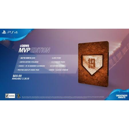 Ea Sports Mvp Baseball (MLB The Show 19 MVP Edition, Sony, PlayStation 4,)