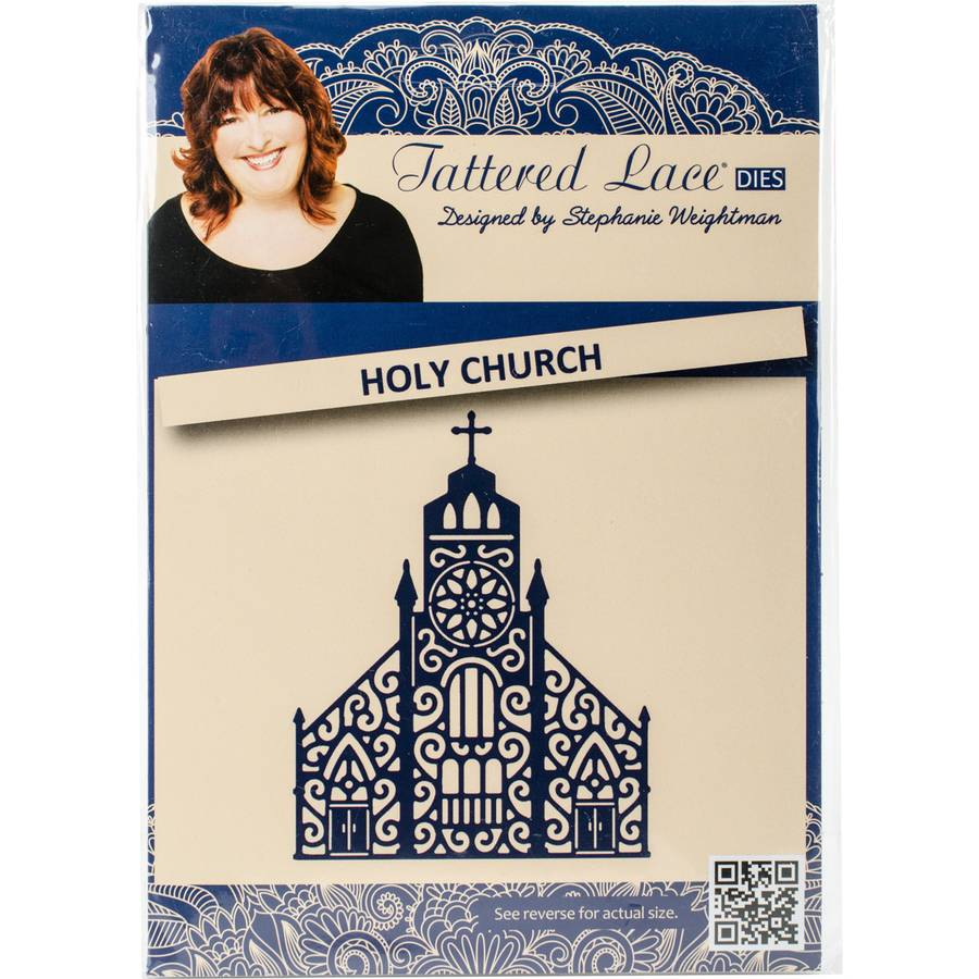 Tattered Lace Metal Die-Holy Church