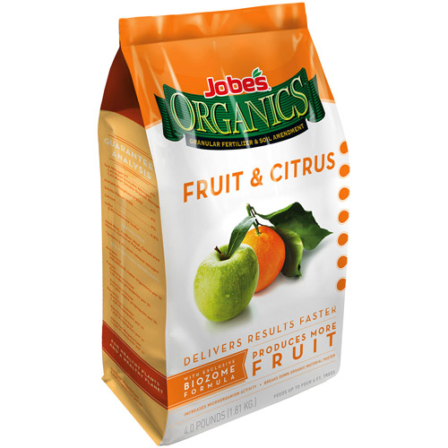 Jobe's Organics Fruit & Citrus Fertilizer, 4 lbs
