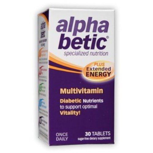 Alpha Betic Plus Extended Energy Multivitamin, 30ct
