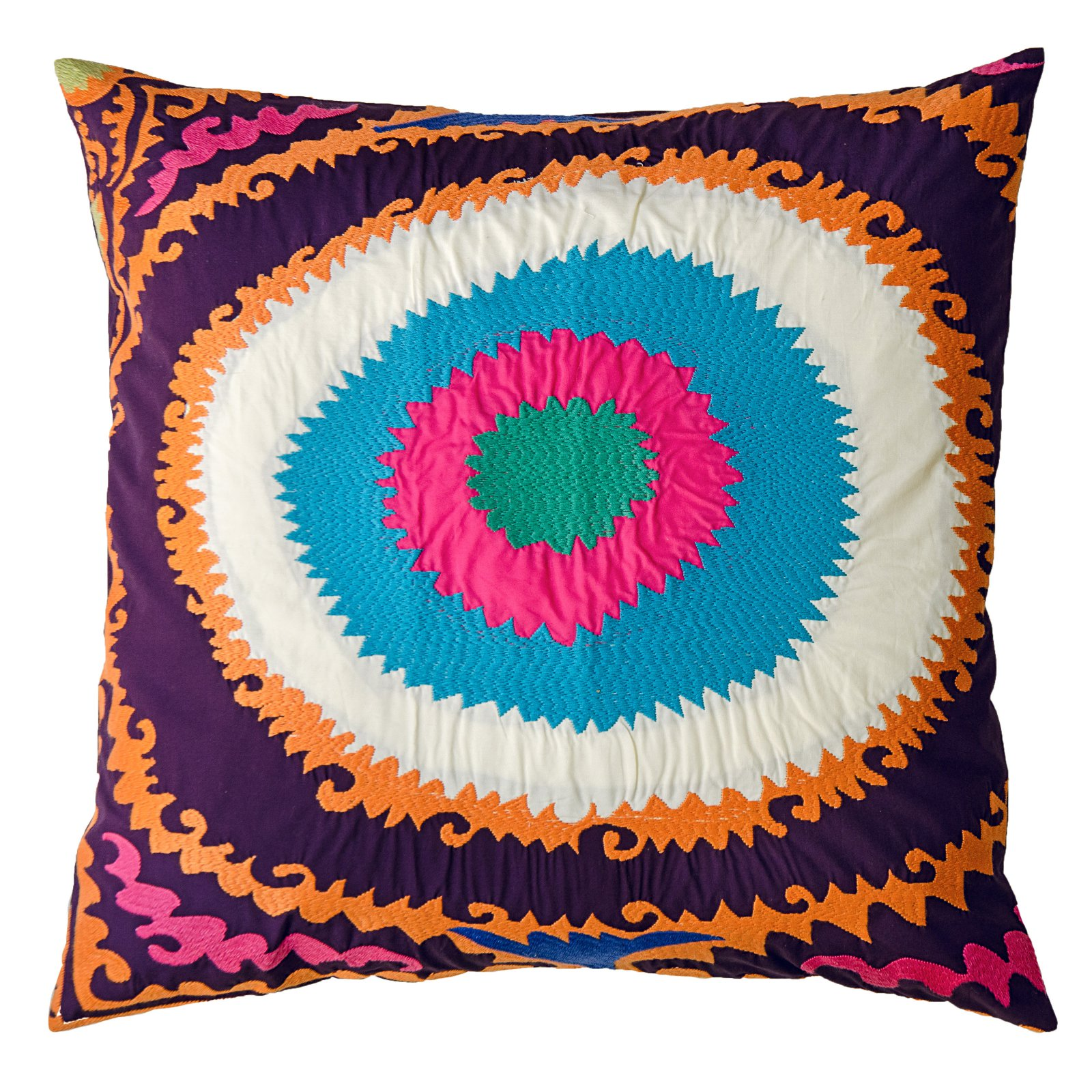 Koko Company TOTEM Circles 20 x 20 in. Pillow