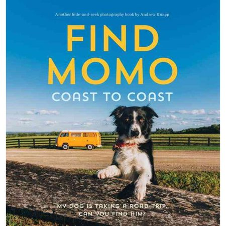 Find Momo Coast To Coast  My Dog Is Taking A Road Trip  Can You Find Him