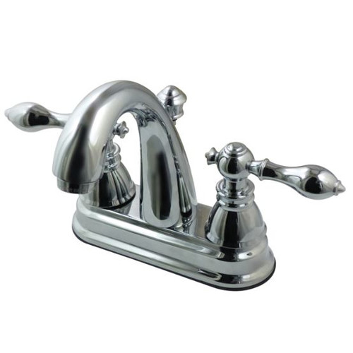 Kingston Brass FS561.ACL American Classic Centerset Bathroom Faucet with Pop-Up