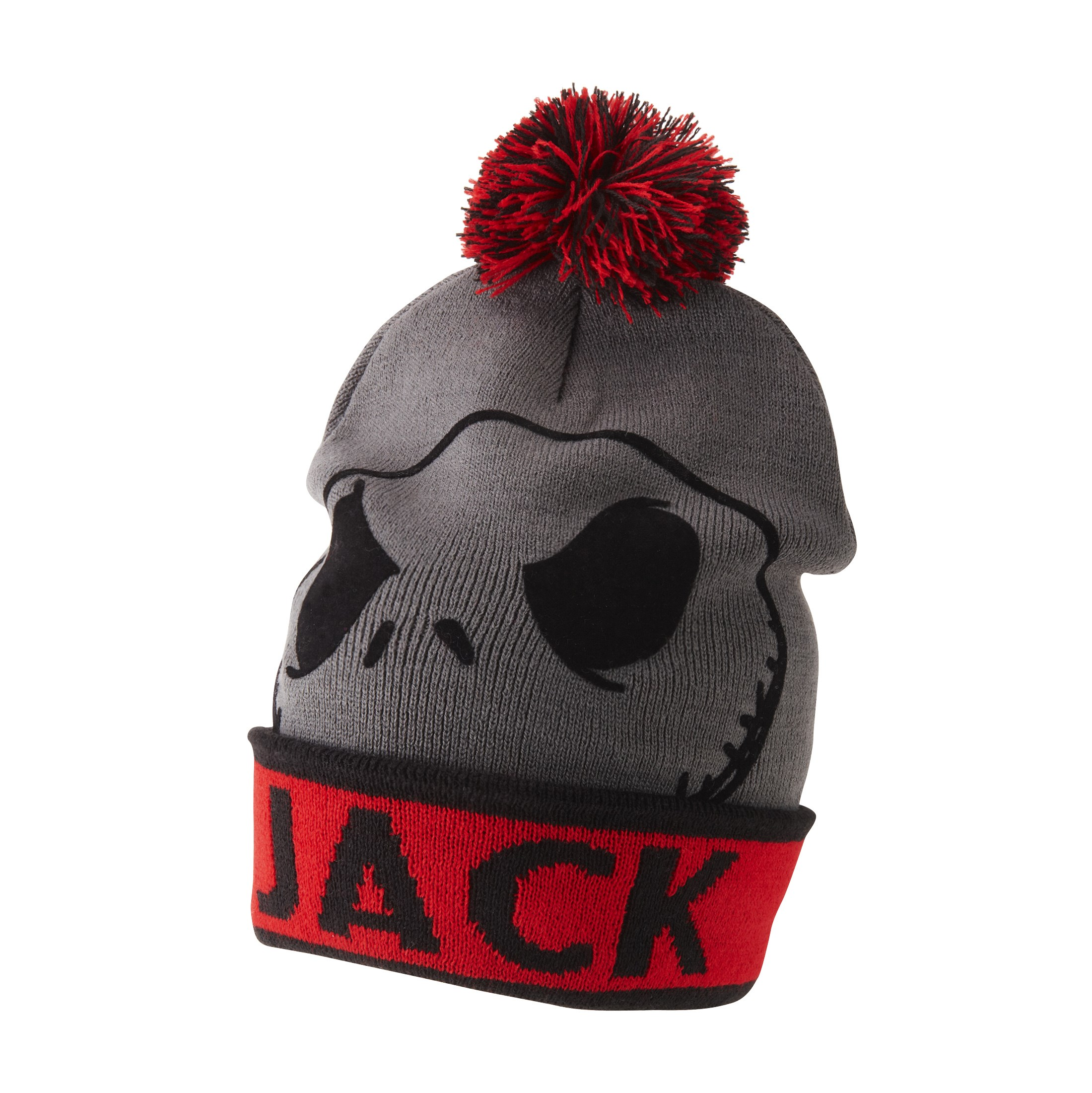 The Nightmare Before Christmas Jack Skellington Knit Hat with Pom