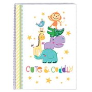 Cute and Cuddly Baby Animals 4 by 6 Inch Photo Album 160 Capacity