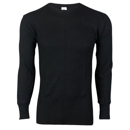 - Indera - Mens 100% Heavyweight Long Sleeve Cotton Thermal Top 839LS - Choose Regular or Big and Tall - Full Cut Base Layer for Very to Extreme Cold Activity - 30 Day Guarantee - FREE SHIPPING
