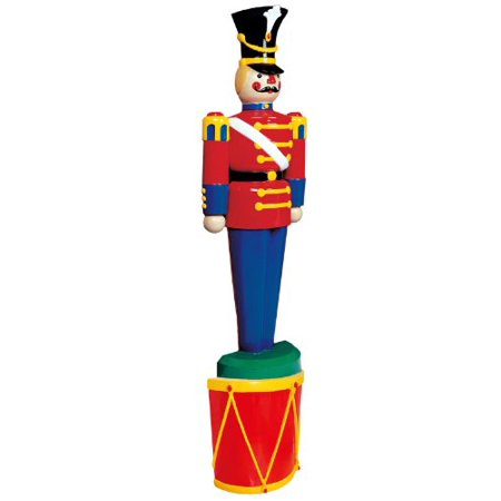 life size half toy soldiers outdoor christmas lawn decora