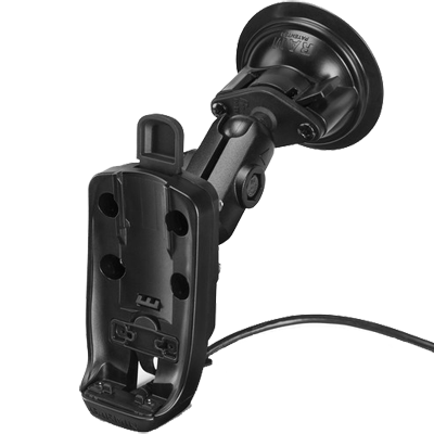 Garmin 010-12525-02 Powered Mount w/Suction Cup, inReach Explorer