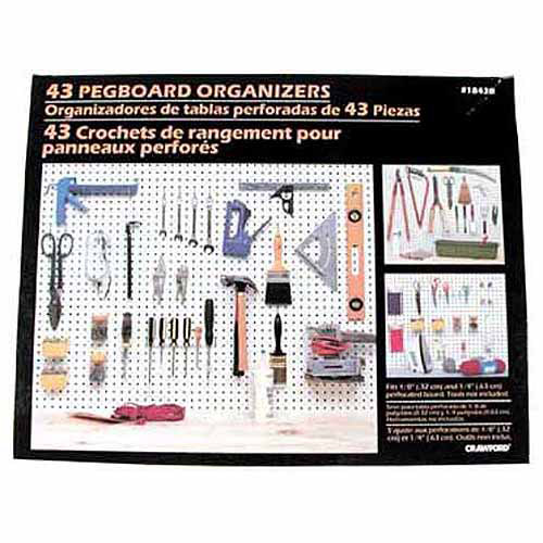 Lehigh Group 43pc Pegboard Kit
