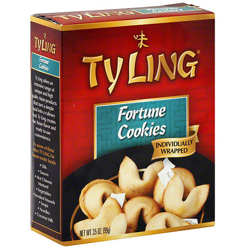 Ty Ling Fortune Cookies, 3.5 oz (Pack of 12) by Generic