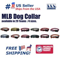 Pets First MLB Oakland Athletics Dogs and Cats Collar - Heavy-Duty, Durable & Adjustable - Medium