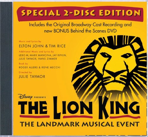 Lion King on Broadway (Original Broadway Cast) (Includes DVD)