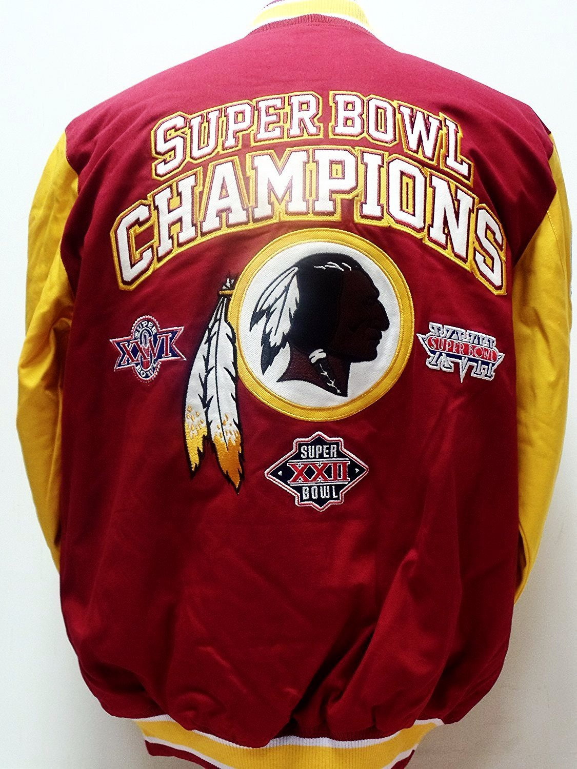 Washington Redskins Cotton Canvas Super Bowl Champions Jacket by G-III Sports