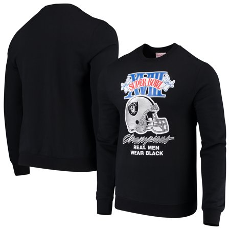 check out 8da25 18330 Oakland Raiders Mitchell & Ness All-Time Great Pullover Sweatshirt - Black