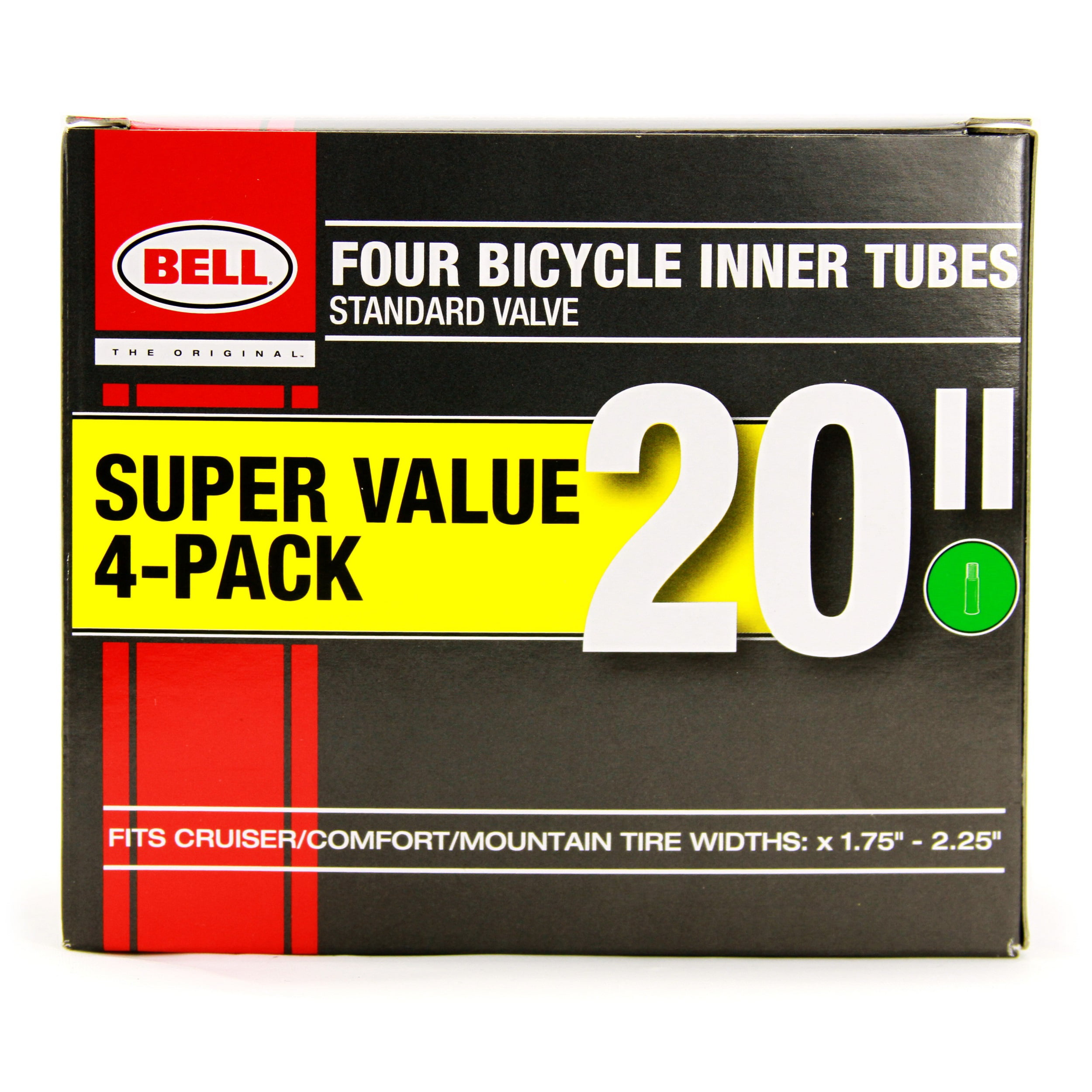 """2 PACK  20/"""" Bicycle Tire Bell Universal Inner Tube Wheel size 20/"""" FREE SHIPPING"""