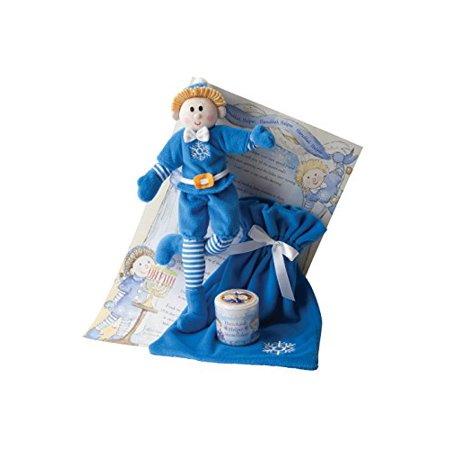 Girl And Boy Elf On The Shelf (Elf Magic Hanukkah Helper Boy with Blonde Hair - 10)