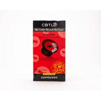 The Coffee Bean & Tea Leaf Italian Espresso Dark Roast Single Serve Coffee for CBTL Single Serve Systems, 1 Box of 16 Capsules
