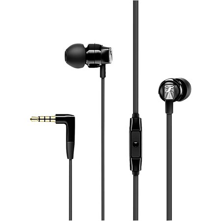 Sennheiser CX 300S Earphones with Built-in Mic and Smart Remote Black ()