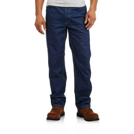 Men's Flame Resistant 5-Pocket Relaxed Fit Jean, HRC Level 2 5 Pocket Raw Denim