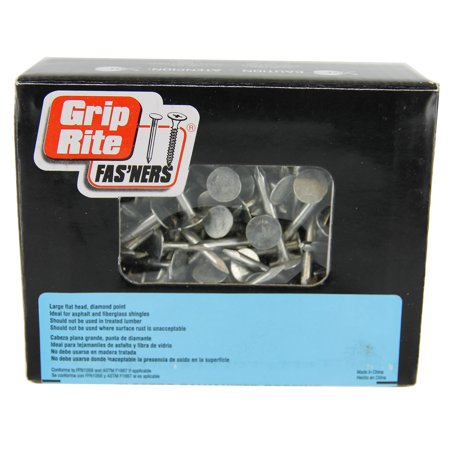 Grip Rite 2 Packs Eg Roofing 1-1/2 1#