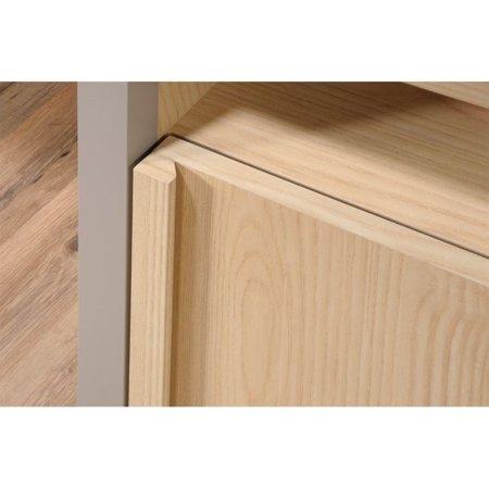 Sauder Affinity Home Office Desk in Urban Ash - image 1 de 9