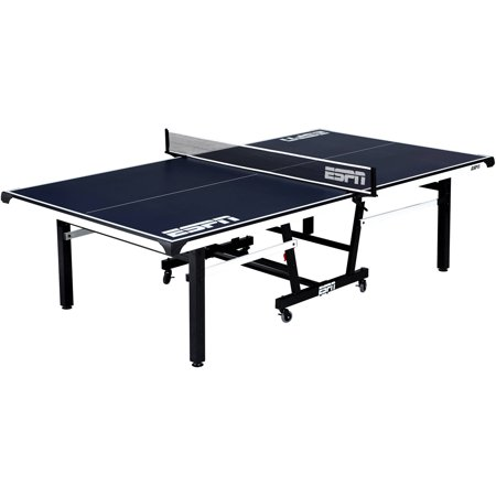 Espn official size table tennis table with table cover - What is the size of a ping pong table ...
