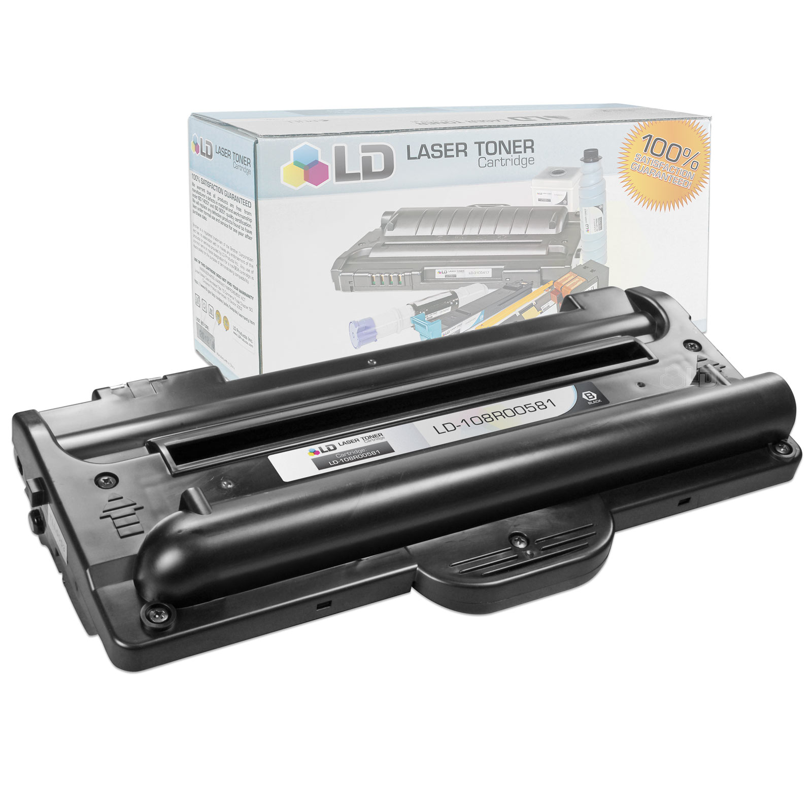 LD Compatible Replacement for Samsung SCX-4100D3 Black Laser Toner Cartridge for use in Samsung SCX-4100 Printer