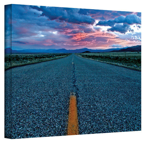 "Mark Ross ""Us 91"" Wrapped Canvas Art"