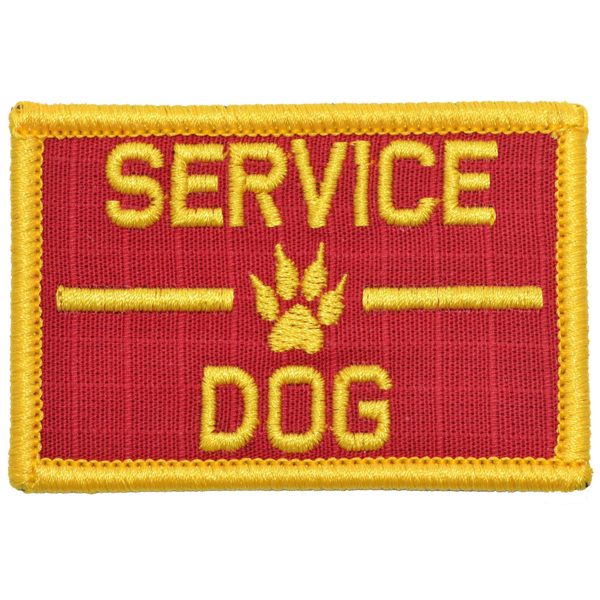 Service Dog, K9 Dog Patch - 2x3 Patch
