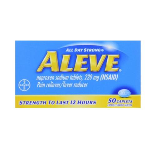 Aleve Caplets 50 ea (Pack of 2)