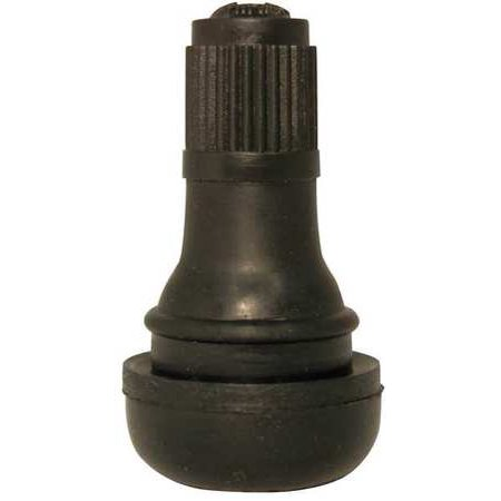 Image of HALTEC TV-412-100 Snap-In Tire Valve,7/8 In,PK100