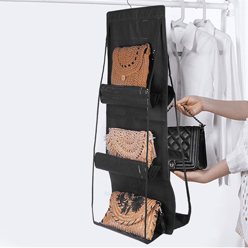 Closet Door Hanging Handbag Storage