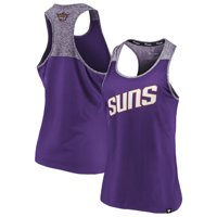 Phoenix Suns Fanatics Branded Women's Made to Move Static Performance Racerback Tank Top - Purple/Heathered Purple