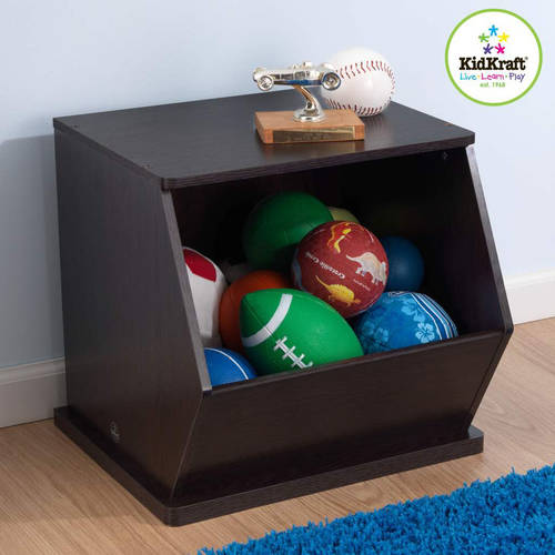 KidKraft Single Stackable Storage Unit, Multiple Colors