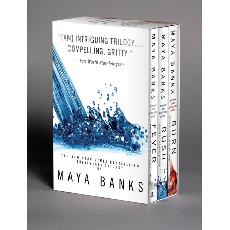 Maya Banks Breathless Trilogy Boxed Set (The Best Of Briana Banks)